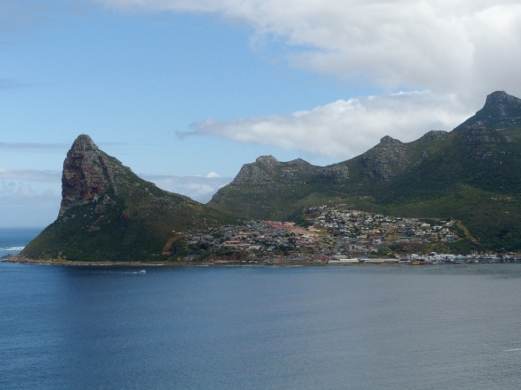 Looking back at Hout Bay