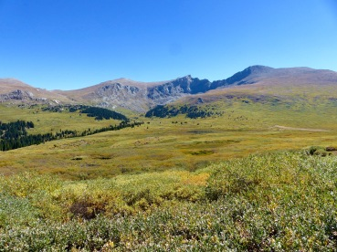 At the top of Guanella pass