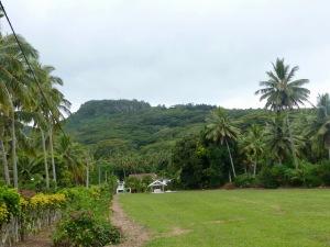 Raemaru Peak doesn't look so big from a distance, but it's deceiving!