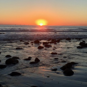 rincon-point-sunset